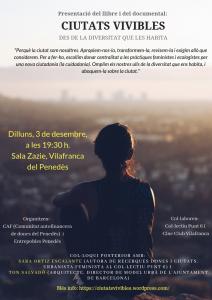 Vilafranca del Penedès: Ciutats vivibles @ Sala Zazie