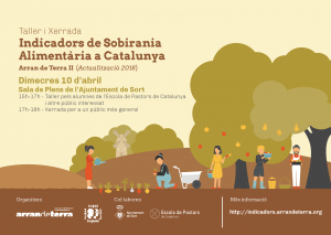 Sort: Taller i Xerrada Indicadors de Sobirania Alimentària a Catalunya @ Sala de Plens de l'Ajuntament