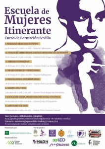 Sevilla: Curso de Formación Escuela Itinerante de Mujeres @ Centro Cívico Las Sirenas