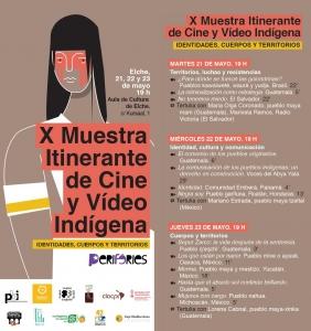 Elx, València i Vila-real: X Mostra de Cinema i Vídeo Indígena