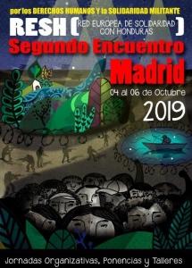 Madrid: Jornadas de solidaridad con Honduras