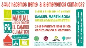 Valladolid: ¿Qué hacemos frente a la emergencia climática? @ Centro Cívico El Campillo