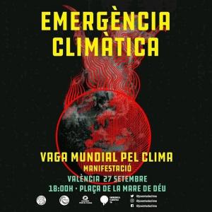 València: Vaga mundial pel clima @ Plaça de la Mare de Déu