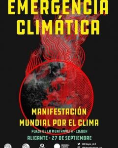 Alacant: manifestació mundial pel clima @ Plaza de la Muntanyeta