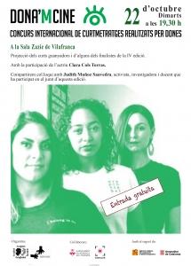 Vilafranca: Projecció DONA'M CINE @ Sala Zazie