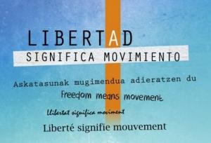 """Burgos: Exposición """"Libertad significa movimiento"""" del 1 al 16 de Febrero @ Biblioteca Pública"""
