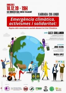 Alacant: Emergència climàtica, activismes i solidaritat @ Sede Universitaria Ciudad de Alicante