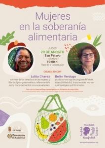 San Pelayo (Valladolid) Mujeres en la soberanía alimentaria @ Plaza de la Constitución