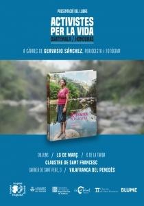 """Presentació del llibre:  """"Activistes per la vida"""" de Gervasio Sánchez"""