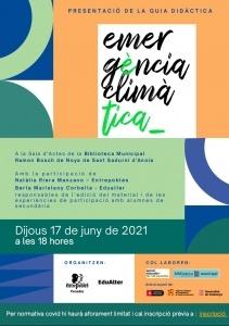 """Sant Sadurní d'Anoia: Presentació de la Guia Didàctica """"Emergència climàtica"""" @ Sala d'Actes de la Biblioteca Municipal Ramon Bosch de Noya"""