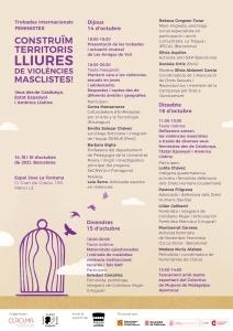 Trobades internacionals feministes: Construïm territoris lliures de violències @ EspaiJove La Fontana